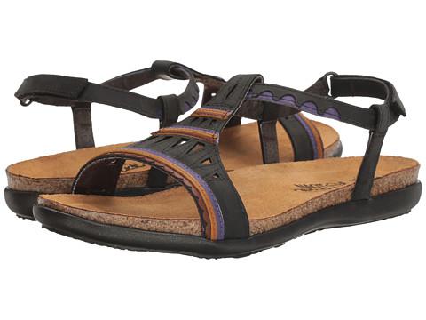 Naot Footwear Odelia - Oily Coal Nubuck/Purple Leather