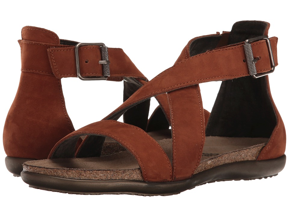 Naot Rianna (Hawaiian Brown Nubuck) Women's Shoes