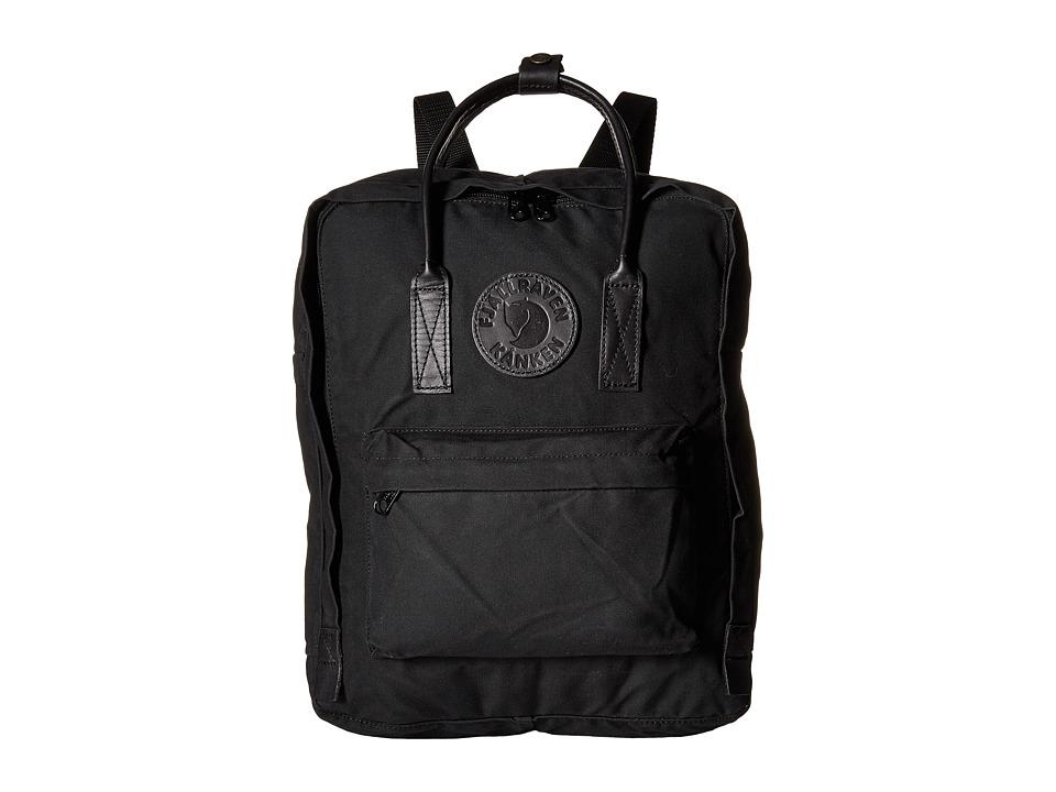 Fjallraven - Kanken No. 2 (Black 1) Backpack Bags
