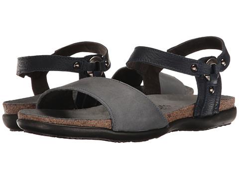 Naot Footwear Sabrina - Vintage Slate Leather/Ink Leather