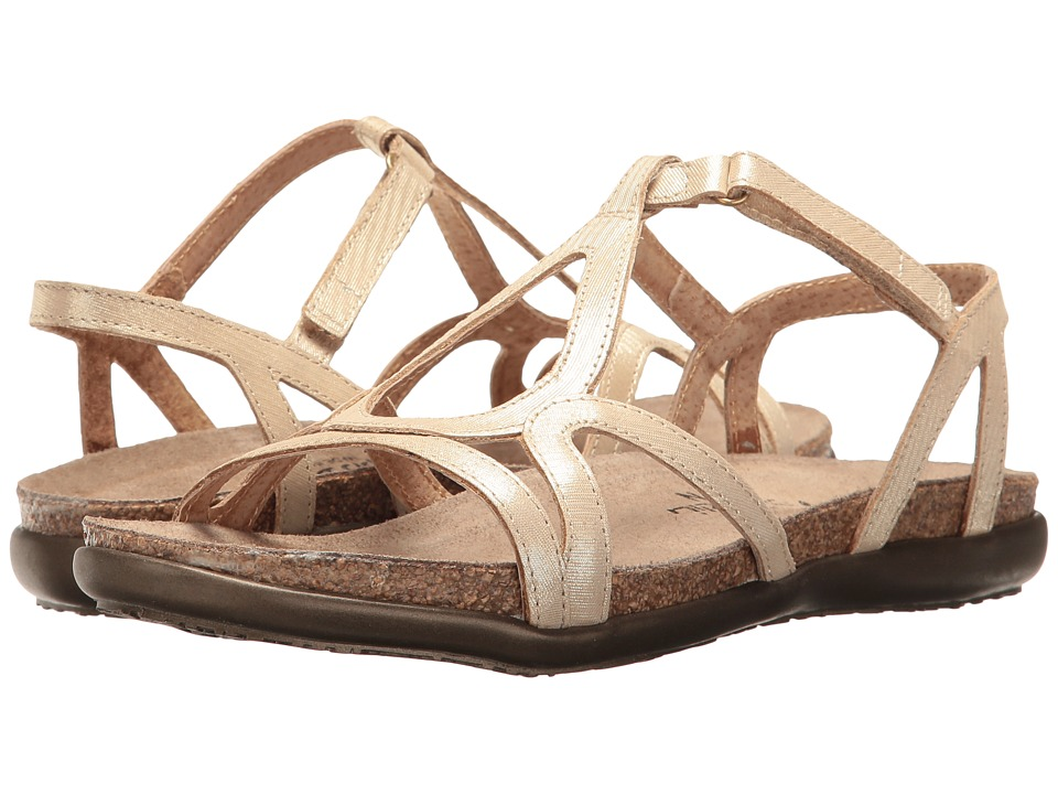Naot Footwear Dorith (Gold Threads Leather) Sandals