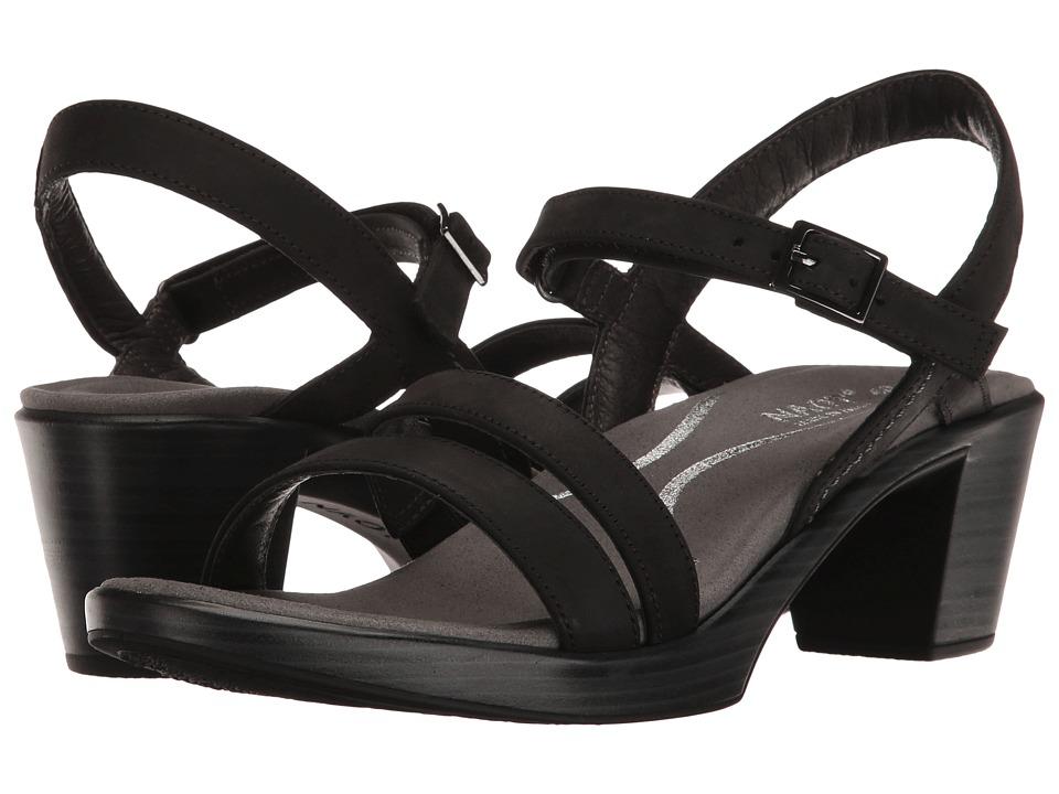Naot Bounty (Oily Coal Nubuck) Women's Shoes