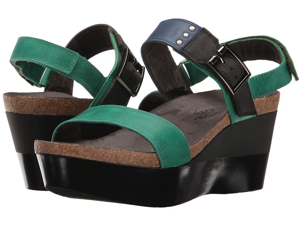 Naot Footwear Alpha (Oily Emerald Nubuck/Oily Blue Nubuck/Oily Coal Nubuck) Women