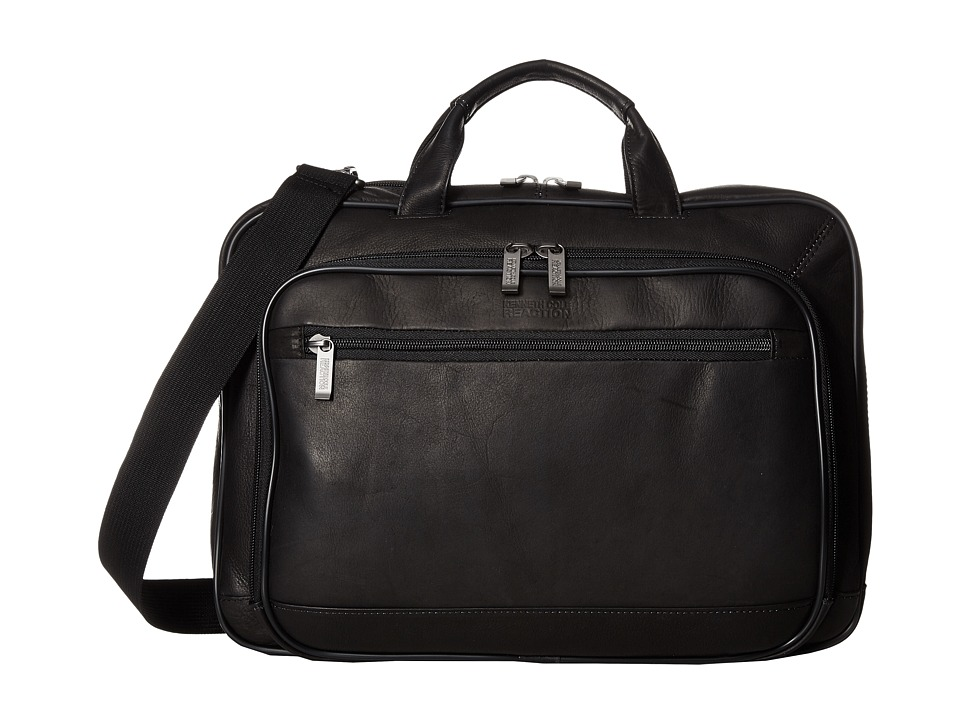 Kenneth Cole Reaction - Point of De-Port-Ure - Computer Portfolio (Black) Briefcase Bags