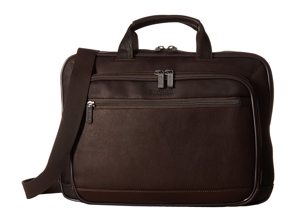 Kenneth Cole Reaction - Point of De-Port-Ure - Computer Portfolio (Brown) Briefcase Bags