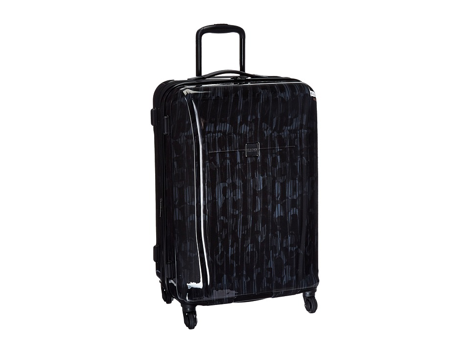 Kenneth Cole Reaction - The Real Collection Hardside - 24 4-Wheel Upright (Black) Luggage