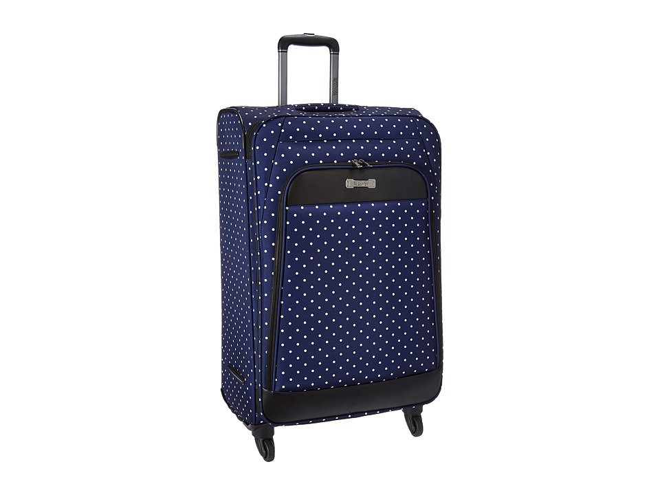Kenneth Cole Reaction - Dot Matrix Collection - 28 4-Wheel Upright (Black/White Dots) Luggage