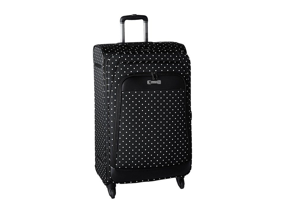 Kenneth Cole Reaction - Dot Matrix Collection - 28 4-Wheel Upright (Navy/White Dots) Luggage