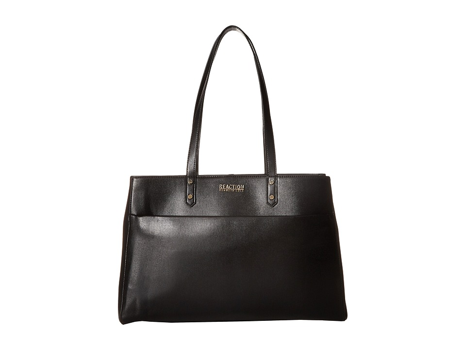 Kenneth Cole Reaction - Downtown Darling - Trench Tote (Black) Tote Handbags