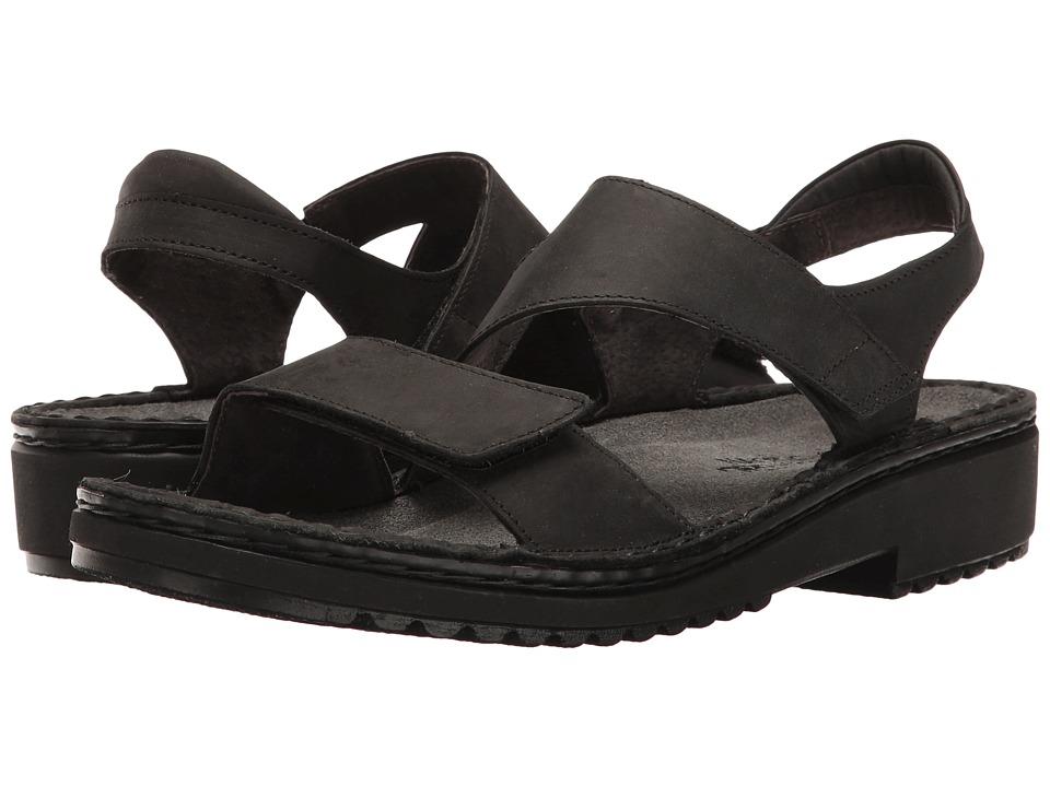 Naot Enid (Oily Coal Nubuck) Women's Shoes