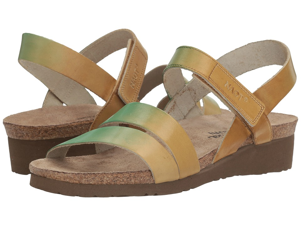 Naot Kayla Hand Crafted (Mint Beige Leather) Women