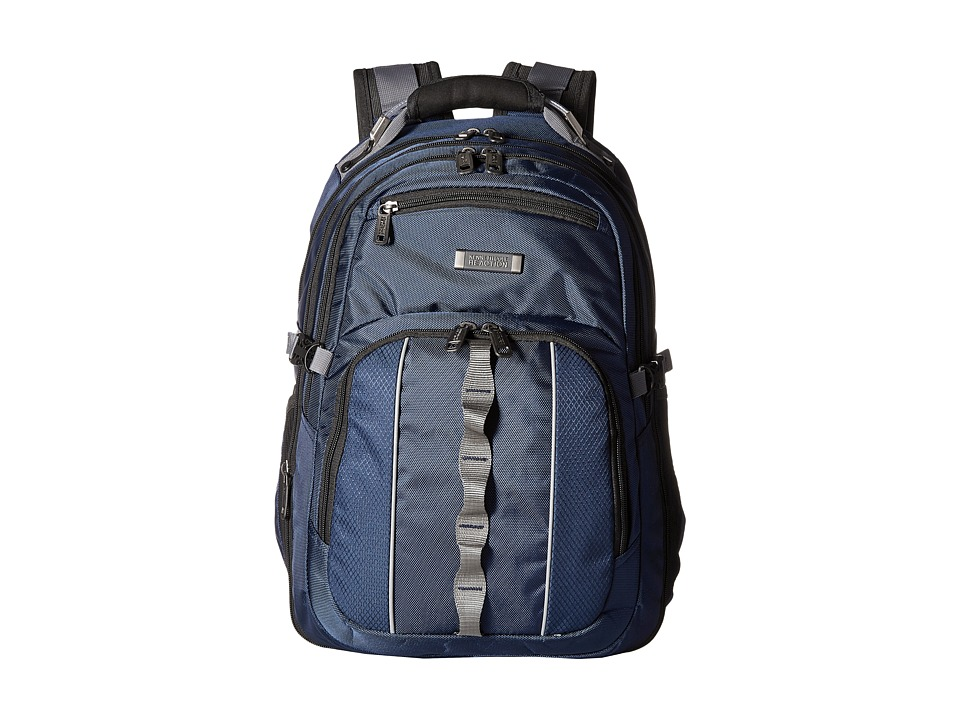 Kenneth Cole Reaction - Pack Down - Computer Backpack (Navy) Backpack Bags