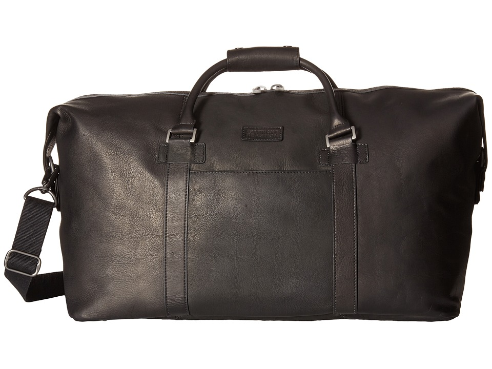 Kenneth Cole Reaction - Colombian Leather - I Beg To Duffel (Black) Duffel Bags