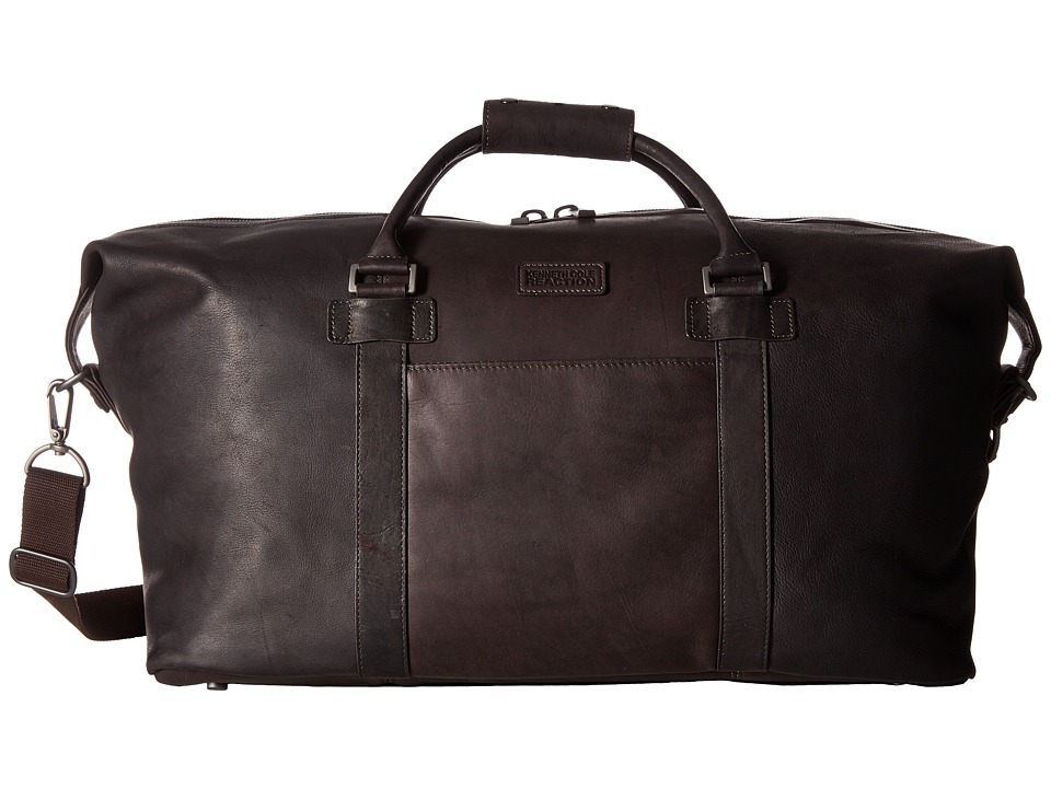 Kenneth Cole Reaction - Colombian Leather - I Beg To Duffel (Brown) Duffel Bags