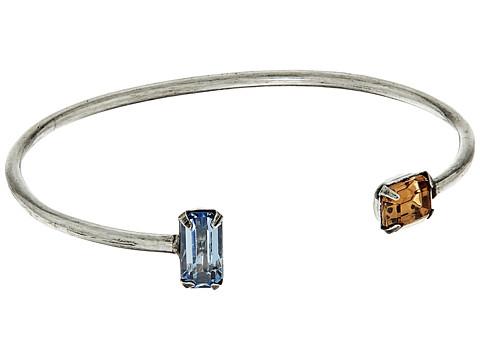 DANNIJO APHELION Bracelet - Ox Silver/Sapphire/Smoked Topaz