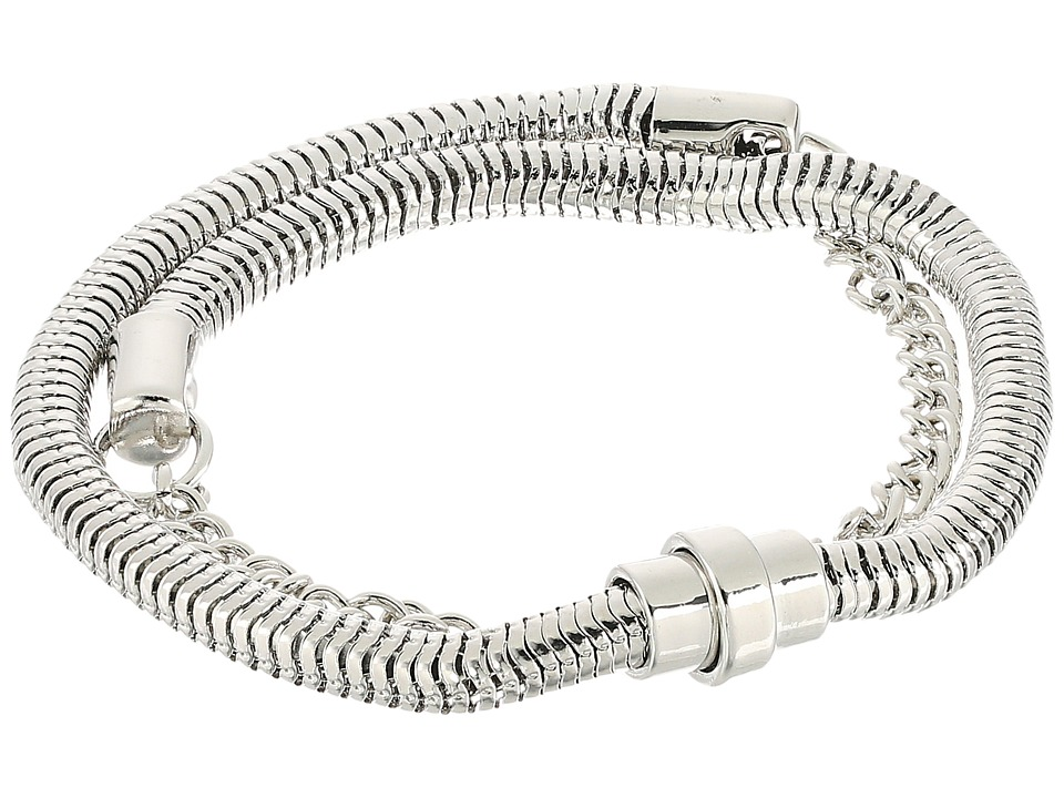 French Connection - Chain Mix Double Wrap Bracelet