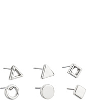 French Connection - Geometric Mini Single 6 Stud Earrings Set
