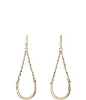 French Connection - Teardrop Tube Swing Earrings