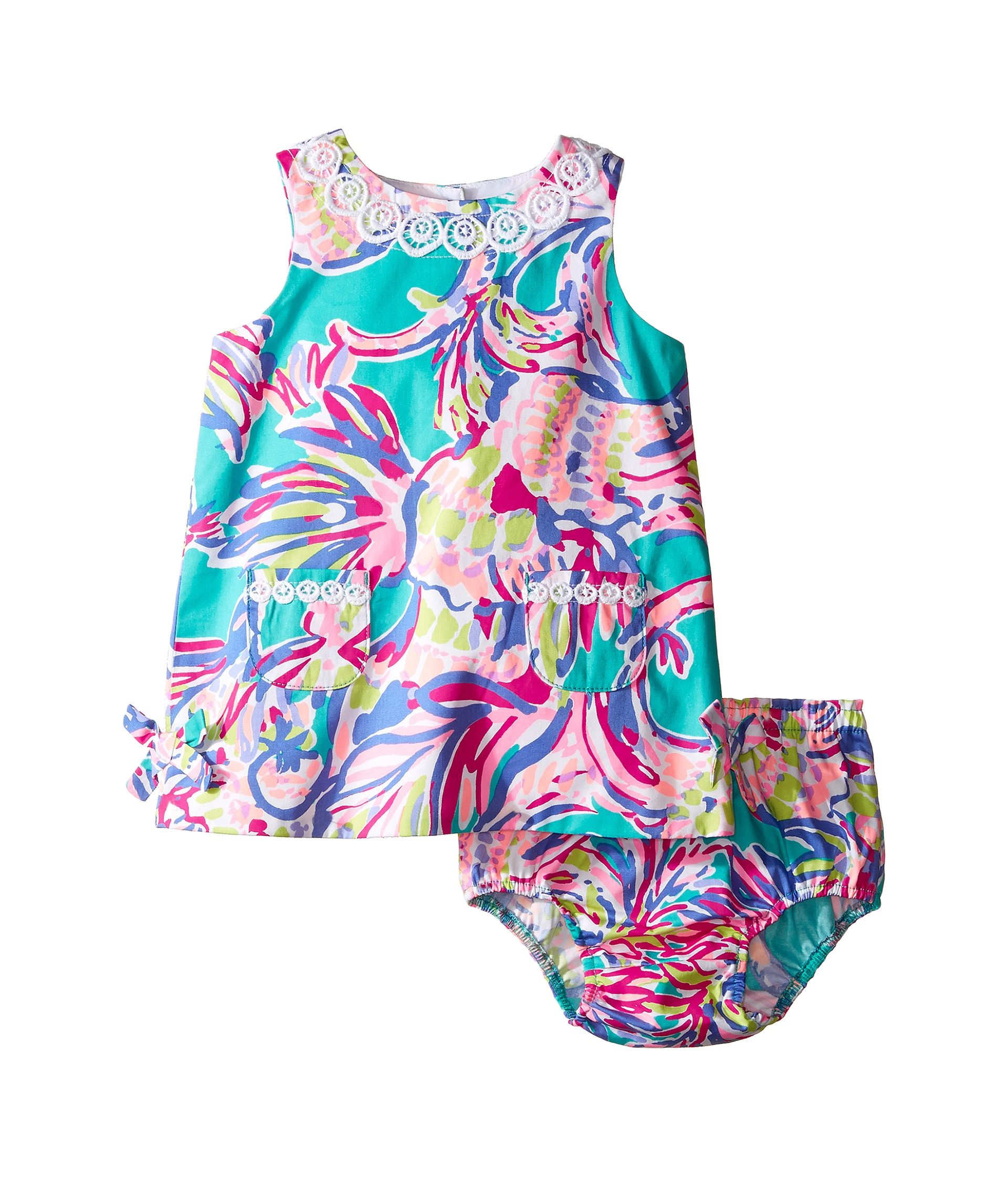 Lilly Pulitzer Kids Lilly Shift Infant Agate Green
