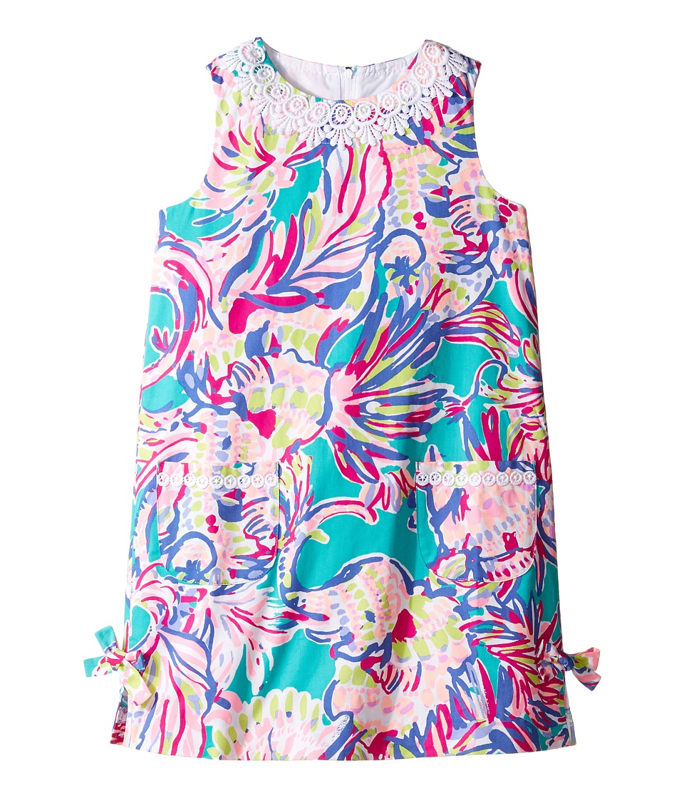 Lilly Pulitzer Kids Little Lilly Classic Shift (Toddler/Little Kids/Big Kids) (Agate Green Safari Sighted) Girl
