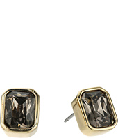 Cole Haan - Emerald Stone Stud Earrings