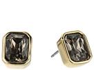 Cole Haan Emerald Stone Stud Earrings