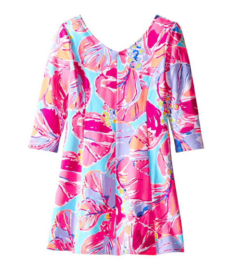 Lilly Pulitzer Kids Amella Dress (Toddler/Little Kids/Big Kids) (Multi Jam Out) Girl