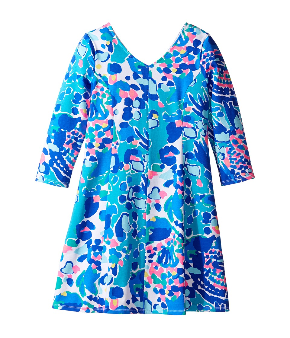 Lilly Pulitzer Kids Amella Dress (Toddler/Little Kids/Big Kids) (Multi Hit the Spot) Girl