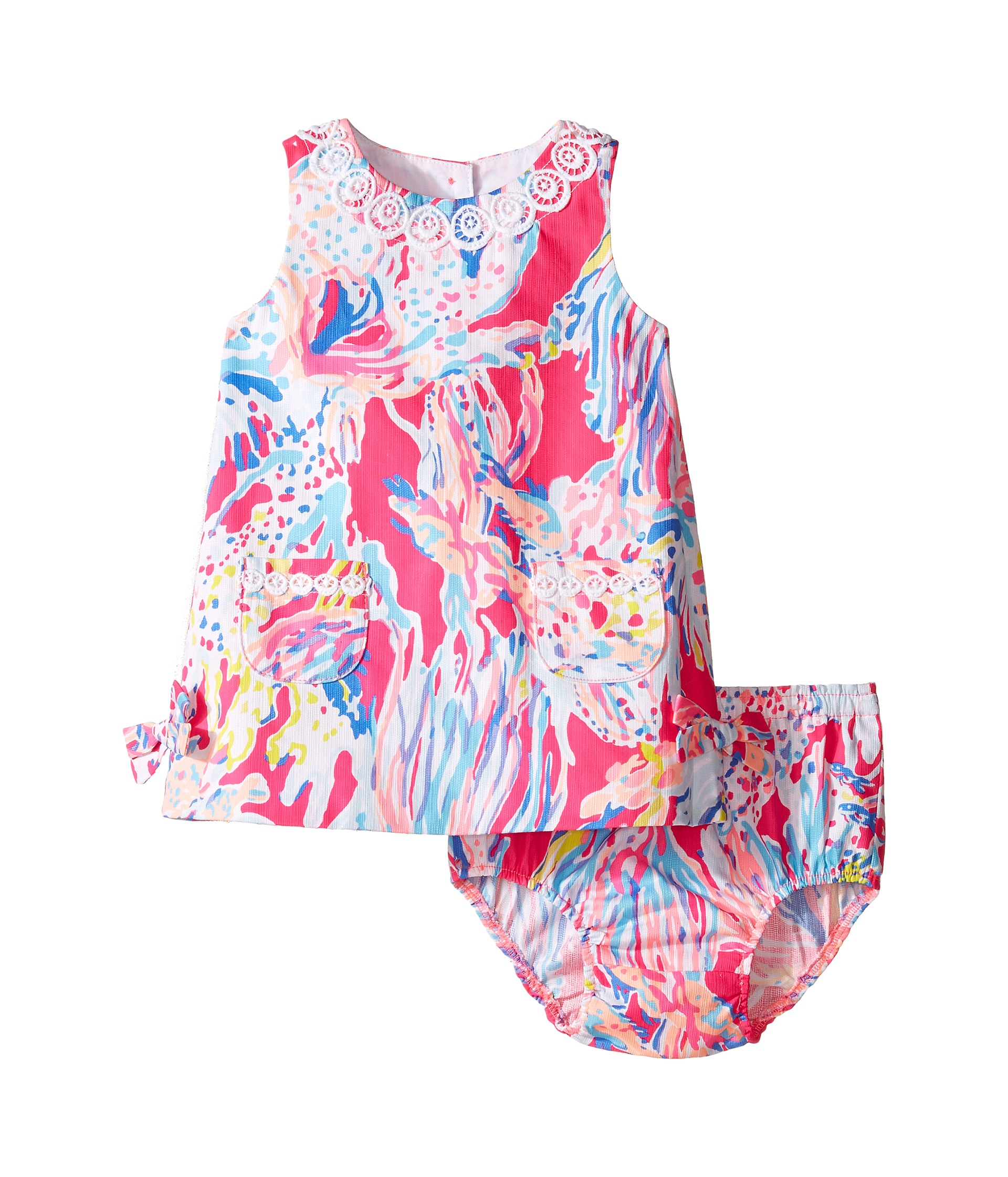 Lilly Pulitzer Kids Lilly Shift Infant at Zappos