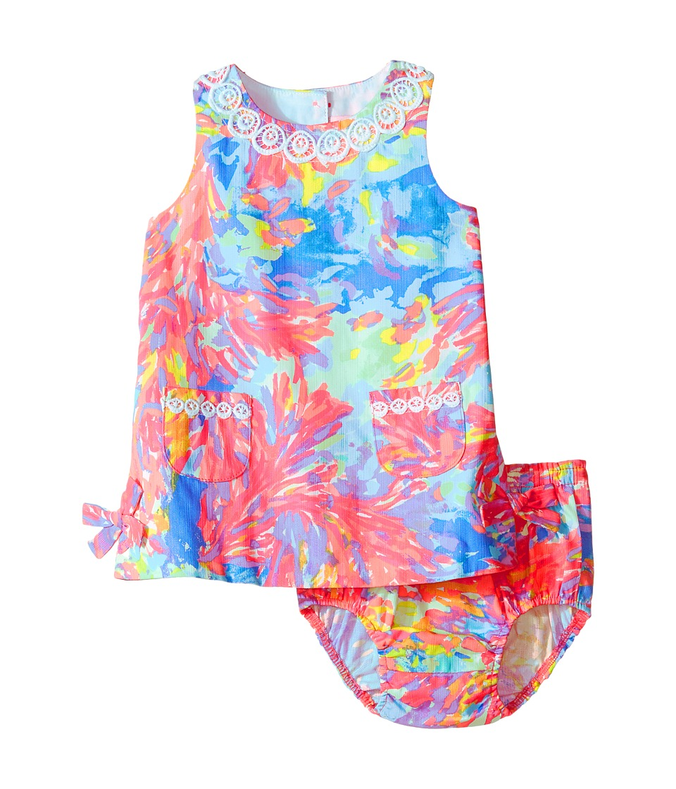 Lilly Pulitzer Kids Lilly Shift (Infant) (Multi Palm Beach Coral) Girl