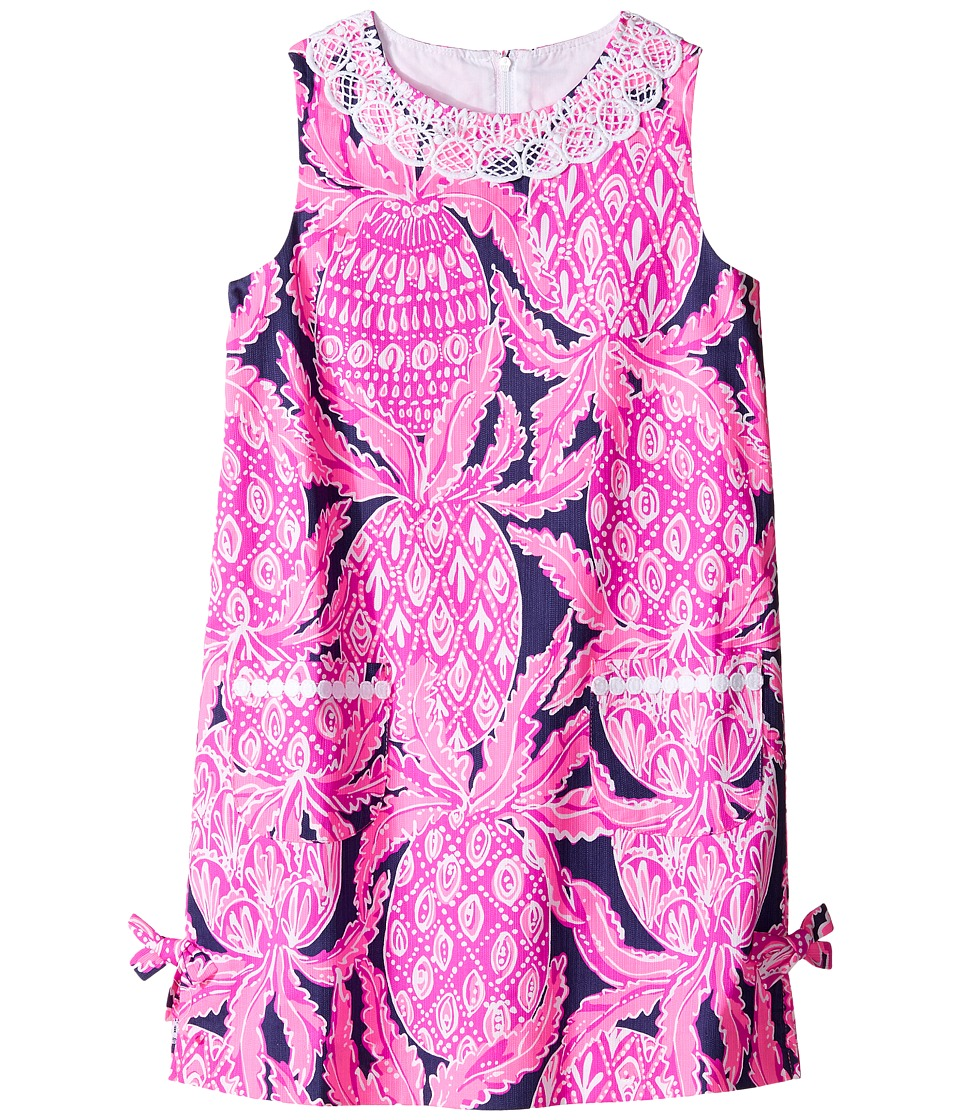 Lilly Pulitzer Kids Little Lilly Classic Shift (Toddler/Little Kids/Big Kids) (Bright Navy Coco Safari) Girl