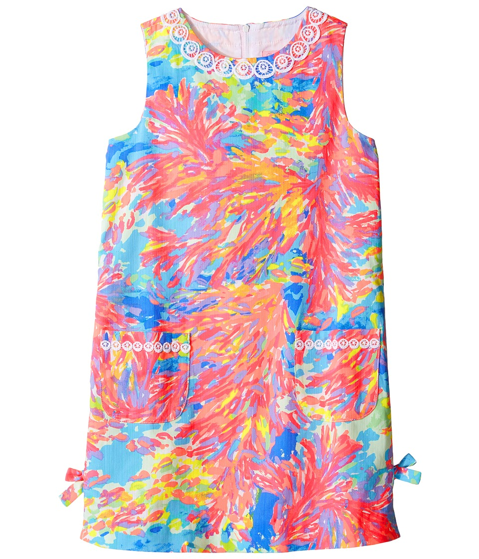 Lilly Pulitzer Kids Little Lilly Classic Shift (Toddler/Little Kids/Big Kids) (Multi Palm Beach Coral) Girl