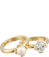 Cole Haan - Cream Stack Ring Set