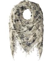 Chan Luu - Bow Print Cashmere & Silk Scarf