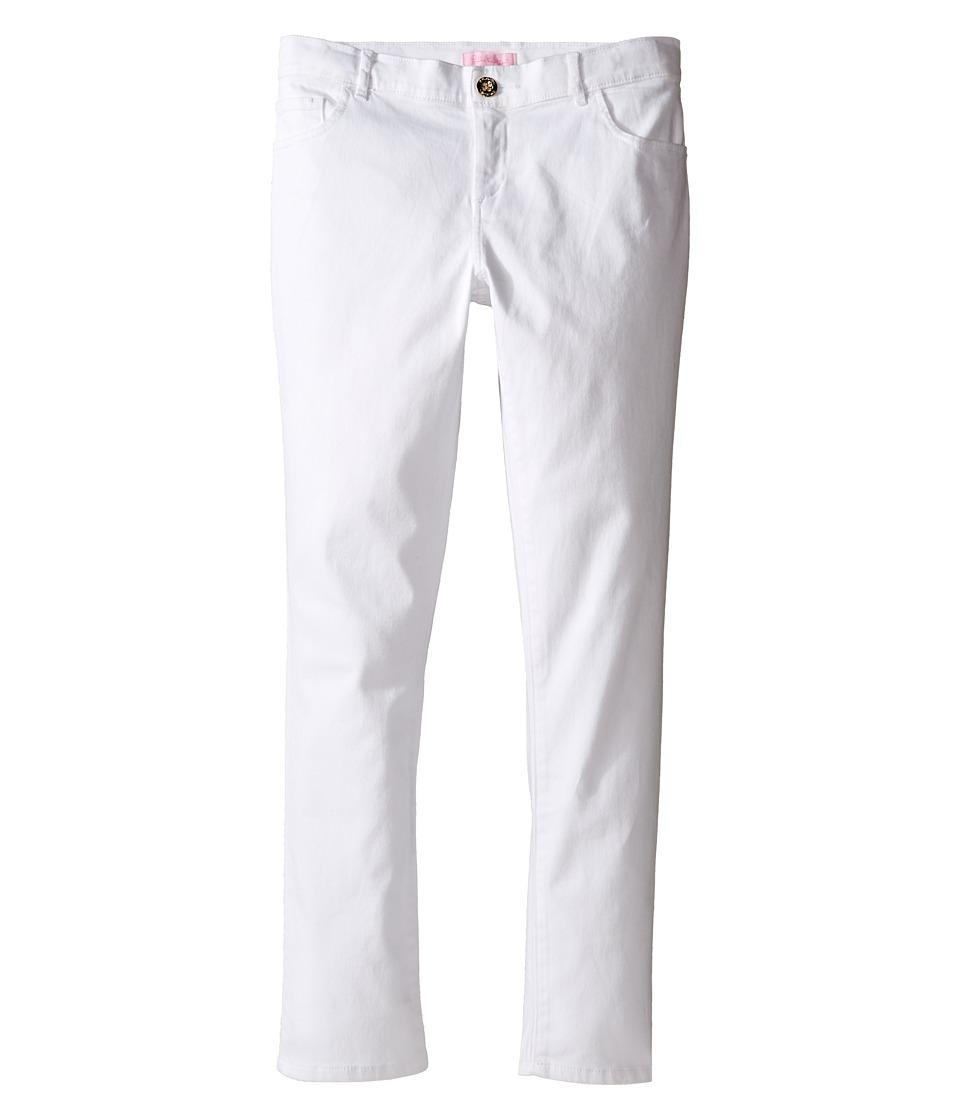Lilly Pulitzer Kids - Mini Worth Pants (Toddler/Little Kids/Big Kids) (Resort White) Girls Casual Pants