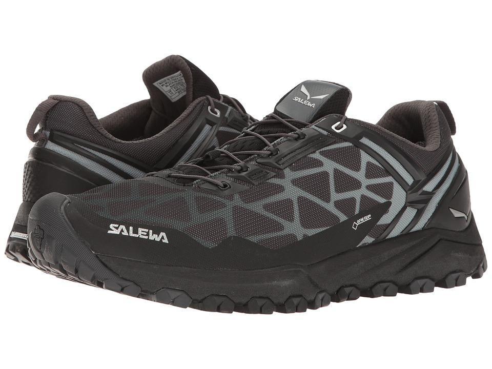 Salewa Multi Track GTX (Black/Silver) Men's Shoes