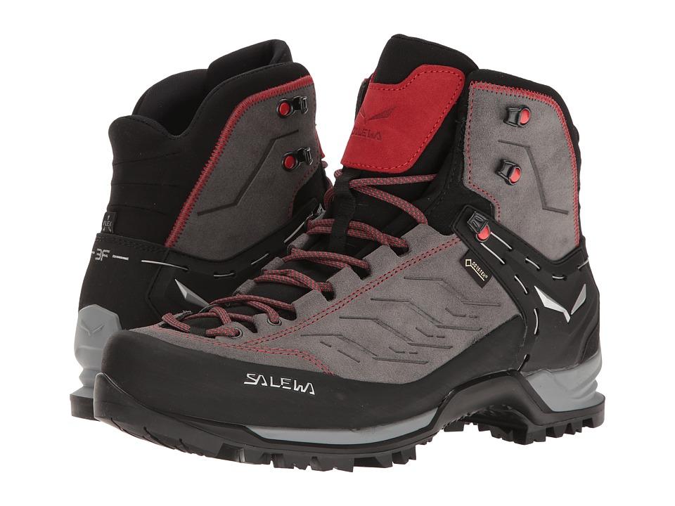 Salewa Mountain Trainer Mid GTX (Charcoal/Papavero) Men's...