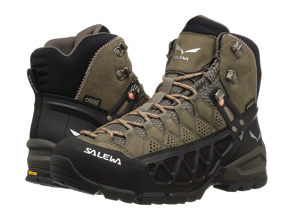 SALEWA Alp Flow Mid GTX (Walnut/Peach Coral) Women