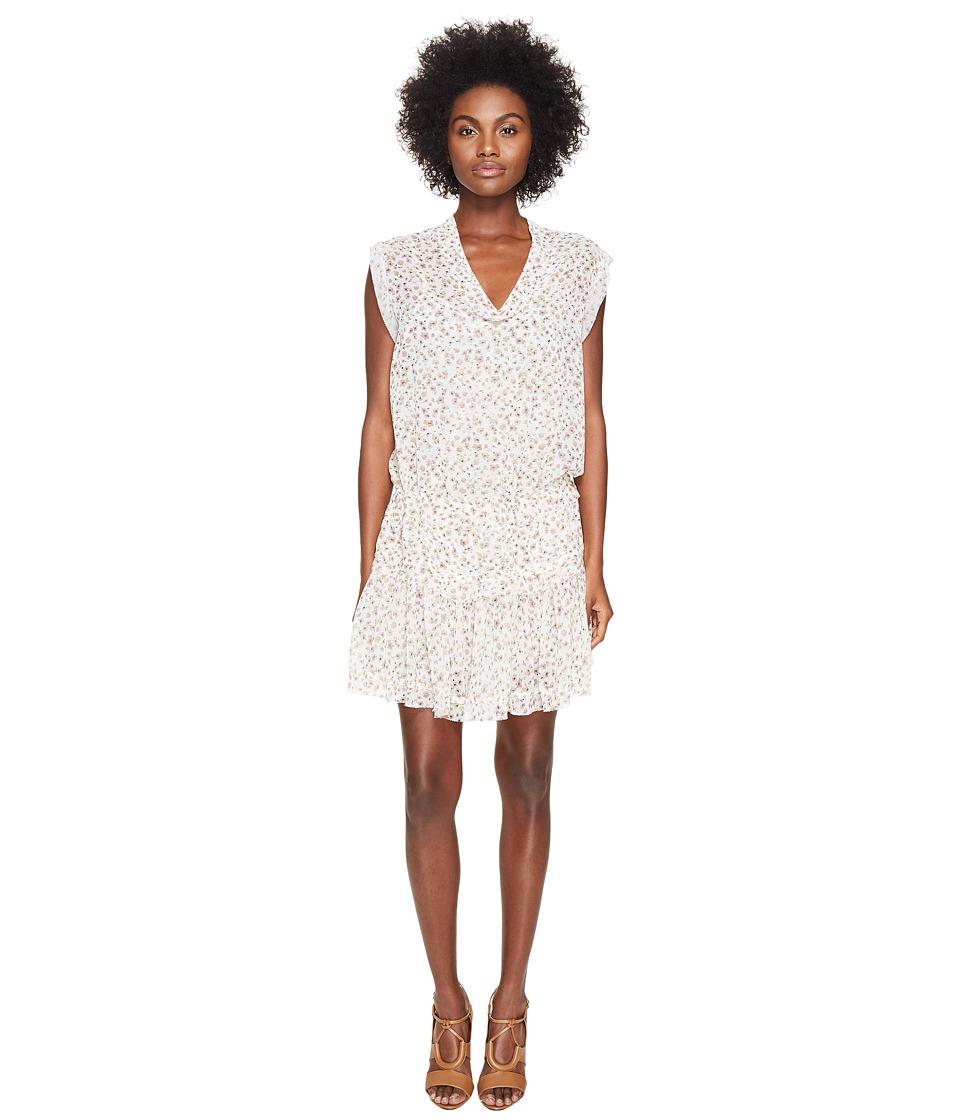 The Kooples - Sport Floral Print Sleeveless Maxi Dress (B...