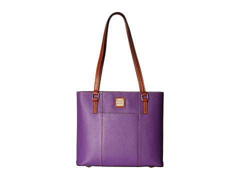 Dooney & Bourke Small Lexington Shopper - Violet/Tan Trim