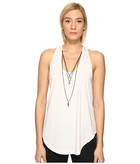 The Kooples Mix Cotton & Charms Tank Top
