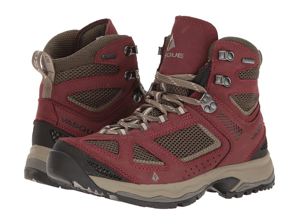 Vasque Breeze III GTX (Red Mahogany/Black Olive) Women's Shoes