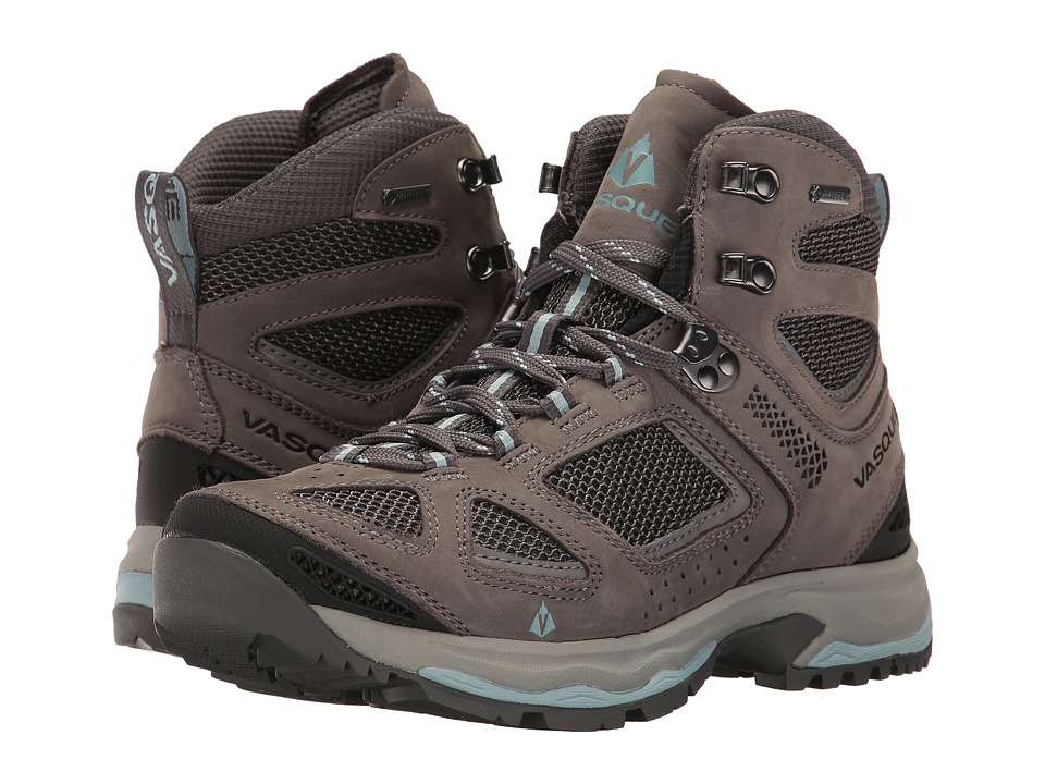 Vasque Breeze III GTX (Gargoyle/Stone Blue) Women's Shoes