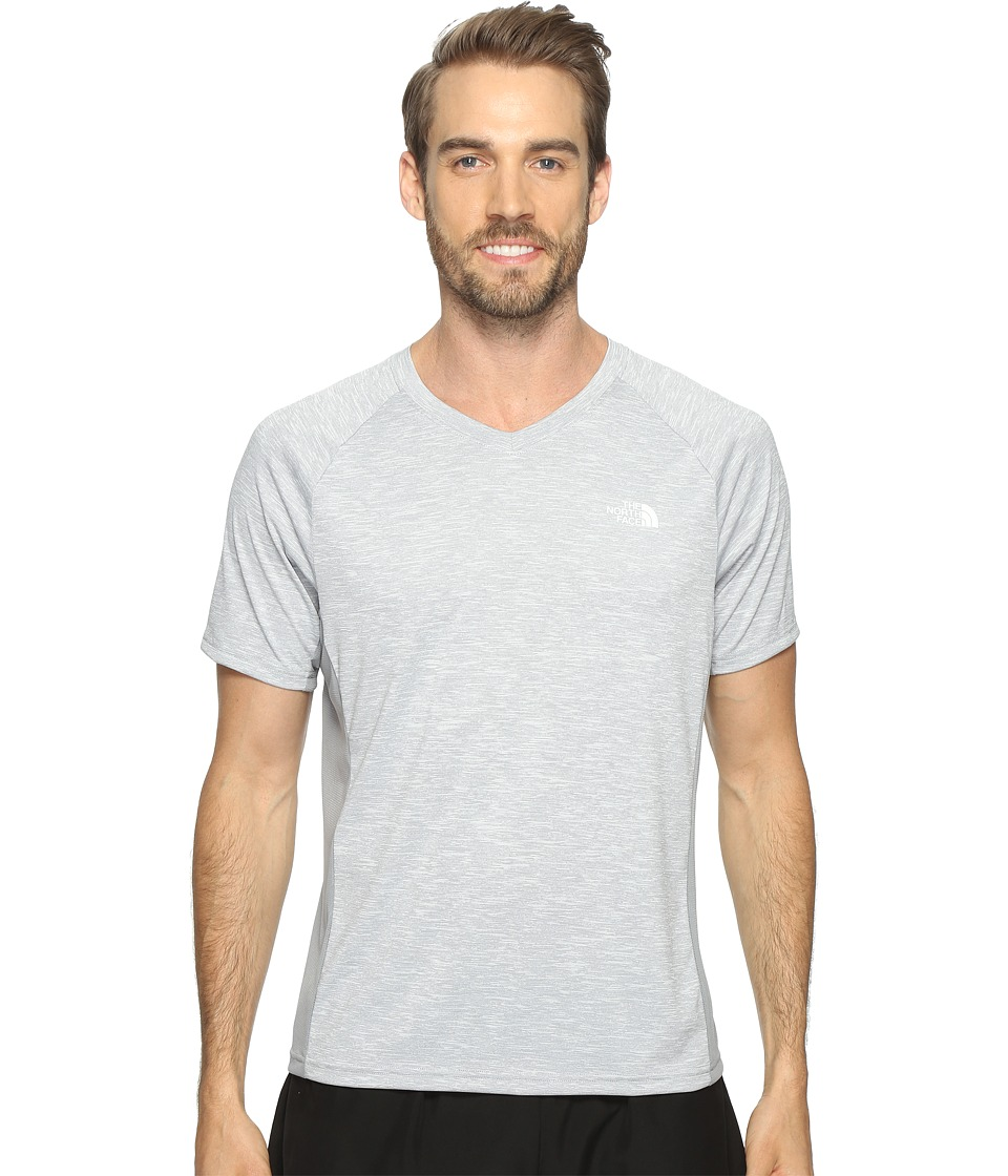 The North Face Ambition V-Neck (TNF Light Grey Heather/Mid Grey) Men