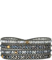 Chan Luu - 32' Swarovski Blue Mix Crystal Wrap Bracelet