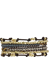 Chan Luu - 32' Grey Mix Wrap Bracelet