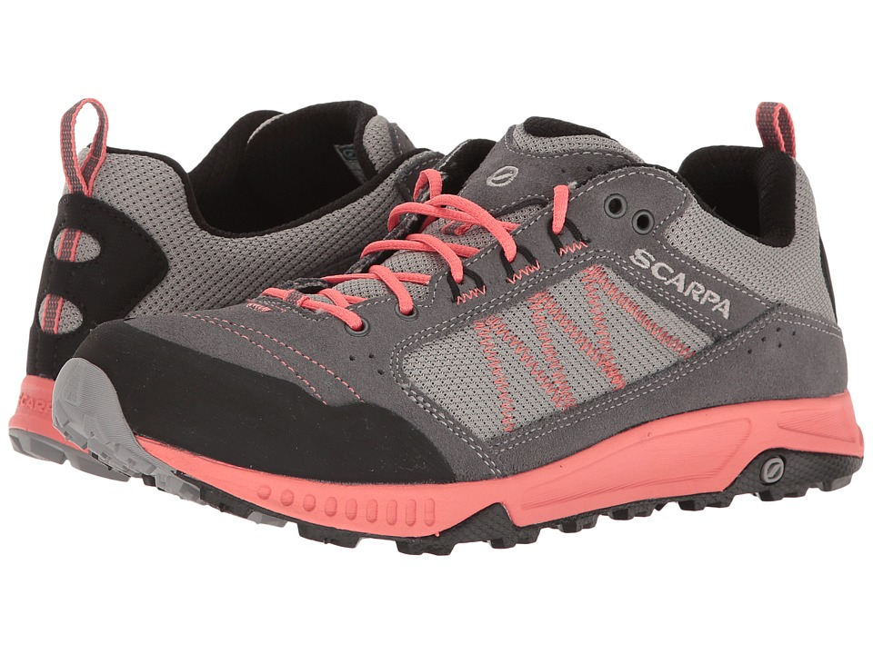 Scarpa - Rapid (Grey/Coral) Womens Shoes