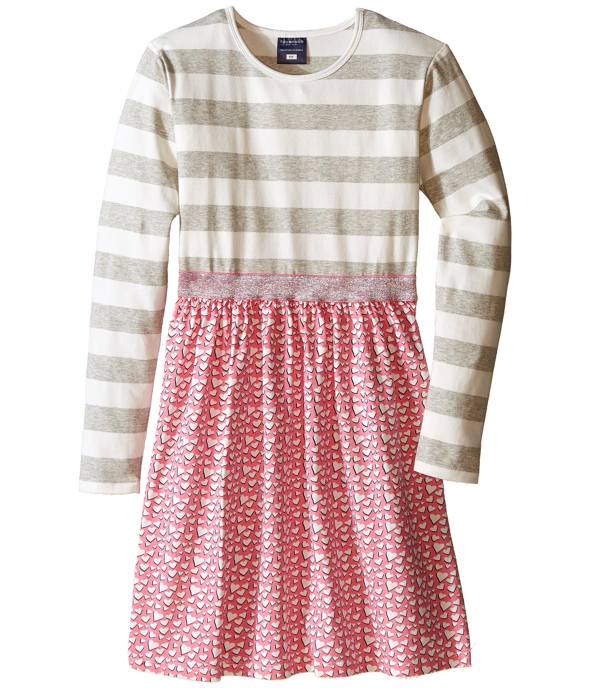 toobydoo sweetheart sparkle belt dress toddler