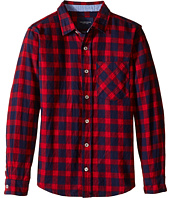 Toobydoo - Lumberjack Red Flannel Shirt (Infant/Toddler/Little Kids/Big Kids)