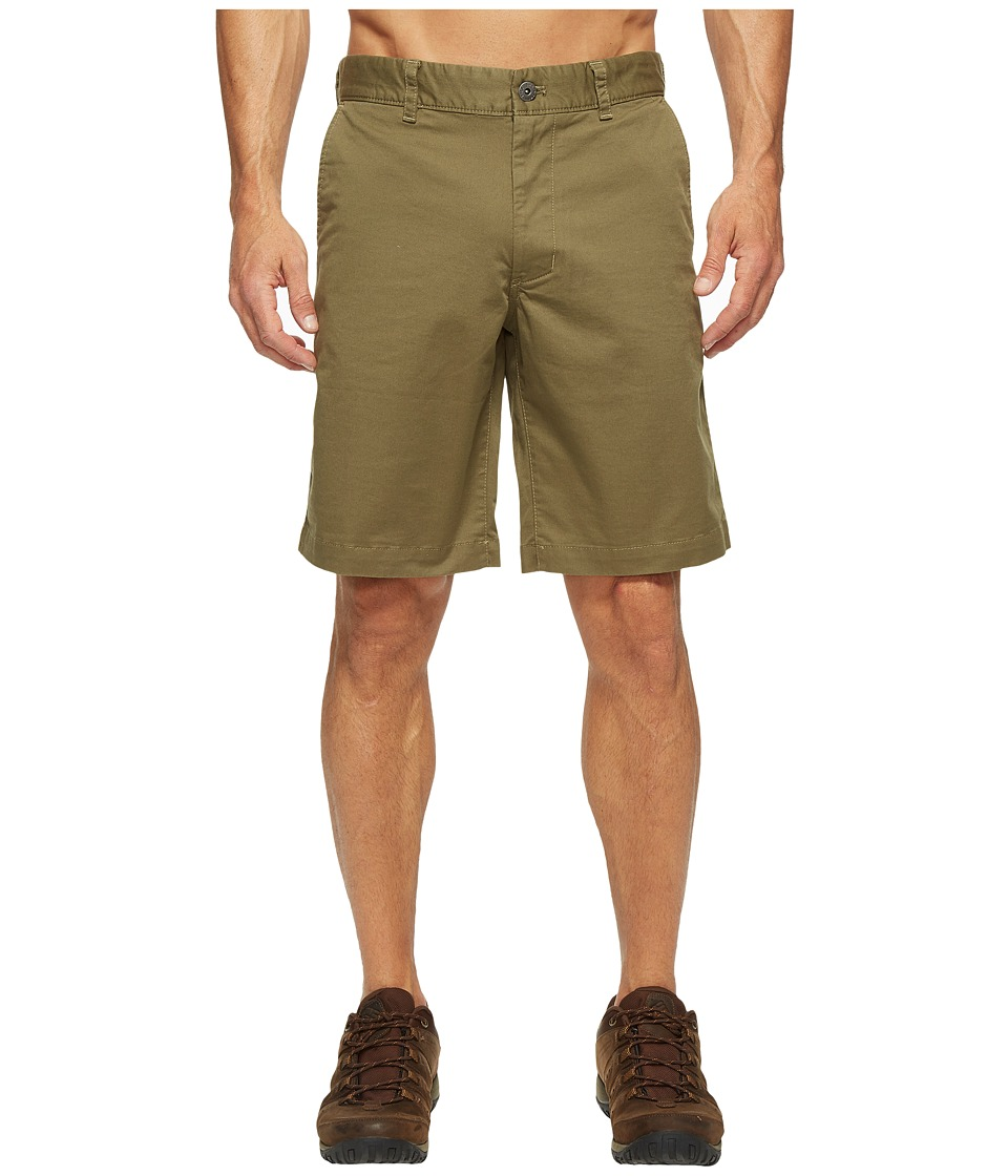 The North Face The Narrows Shorts (Burnt Olive Green) Men